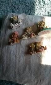 China ornaments teddy bears