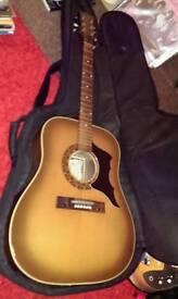 Eros garanzia Italian acoustic guitar