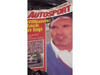 auto sport +classic car magazines