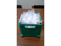 FREE Box of polythene grip seal bags (box not included)