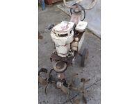 Garden Mountfied Rotavator Petrol. Working order.