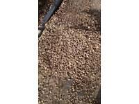 Garden gravel.