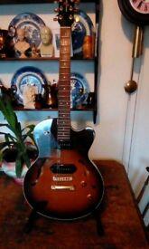 Yamaha aex 502 jazz style guitar