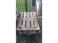 3 Solid Euro Pallets - Heavy FREE