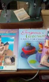 Four cake books