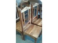 SET OF 4 THAKAT DINING CHAIRS £90.00