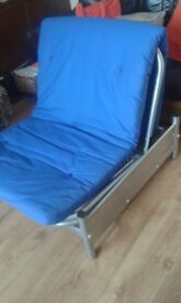 COULD DELIVER. NICE , CLEAN SINGLE CHAIR BED FOR SALE.