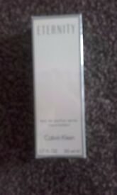 NEW IN CELLOPHANE CALVIN KLEIN ETERNITY