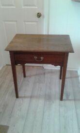 Early George III Oak Lowboy/Side Table