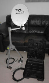 Satellite Dish and Tripod kit made by Archsat and Portable
