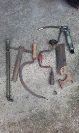 Small Collection of Old Tools.