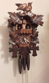 black forest musical cuckoo clock