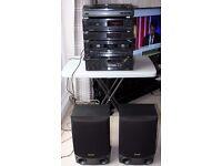Technics HiFi System - CD, Tuner, Turntable etc.