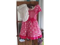 minnie mouse dress complete with bloomers!