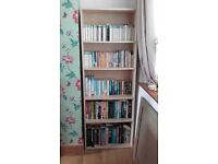 Beech Bookcase with 5 shelves