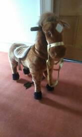 Mechanical horse.