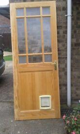 Internal Door with Cat Flap