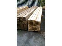 New 75mmx38mmx3.6m(12ft) Sawn Pressure Treated Timbers