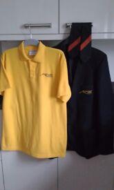 Ferndown Upper School Blazer, 2 Ties & Sports/PE Polo Shirt In Exc Clean Condition as Hardly Worn