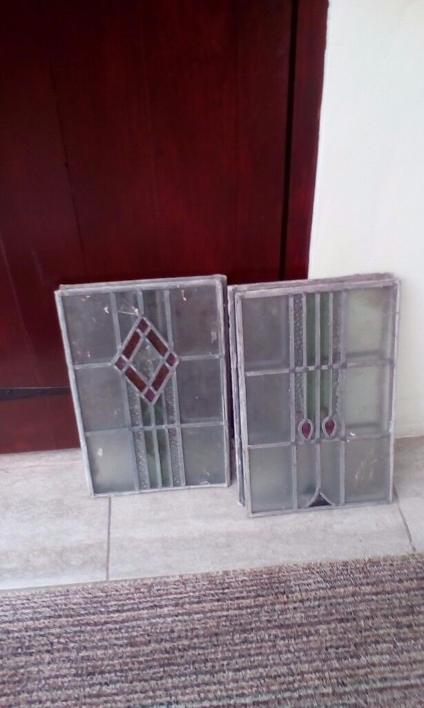 Stain glass panels