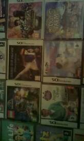 Nintendo 3ds games and ds games