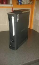 Xbox 360 alite with hard drive and 1 pad