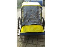 SPOKEY JOES 1 OR 2 CHILDREN BICYCLE TRAILER