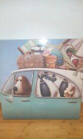 lovely fun sheep prints.