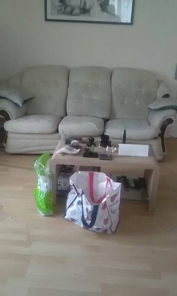 Sofa three seater recliner