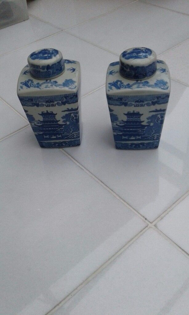 Ringtons Tea Company Ginger Jars excellent condition