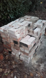 red bricks hond made 1900 reclaimed 200 at least 9 x 4 in