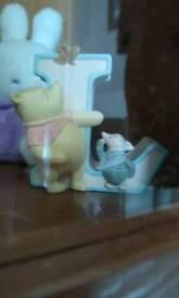 Winnie the pooh letter L new