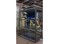4 shelf metal metal racking for sale