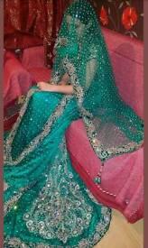 Asian wedding bridal lengha