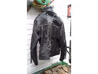 leather jackets male/ femail