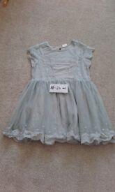 H&M summer girls dress size 18-24 months