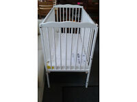 Dropside COT... Brand New... With New Mattress...FREE LOCAL DELIVERY.