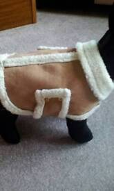 Dogs sheepskin coat