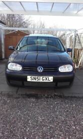 VW GOLF Mk 4, 2001 5D HATCHBACK