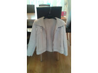 Ladies Next Suede Jacket Size 10.