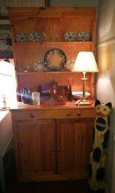 Vintage pine small welsh dresser