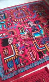 embroidery & cushion covers from peru made by incas