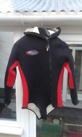Wet Suit Top/Shortie Size S.