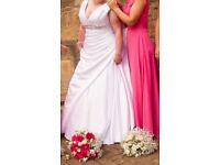White Phoenix Gowns Wedding Dress size 18-20