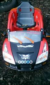 toy motorised ride on car au818