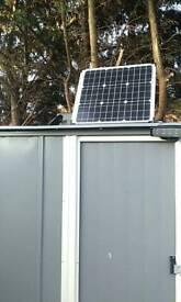 Solar panel kit power inverter 220v 12v battery
