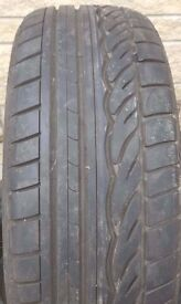 205 45 17 DUNLOP SP01 RUN FLAT TYRE NEARLY NEW!