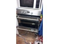 HOTPOINT DOUBLE OVEN (EXCELLENT CONDITION)