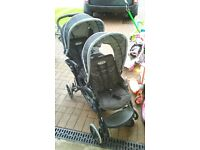 graco stadium duo double buggy