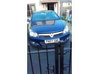cheap astra sxi 2 door coupe 2007 in blue 12 months mot bargain £1375.00